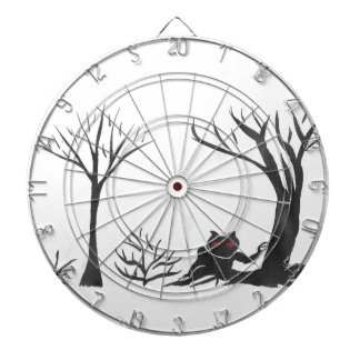 The Thing in the Forest Dartboard