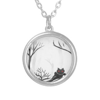 The Thing in the Forest Silver Plated Necklace