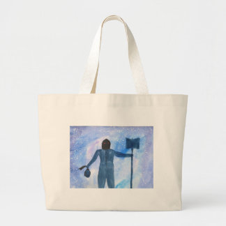 The Thing That Haunts The Old Highway Large Tote Bag