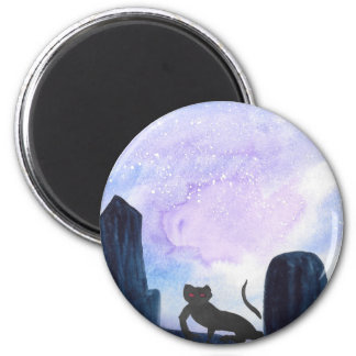 The Thing that Stalks The Graveyard 6 Cm Round Magnet