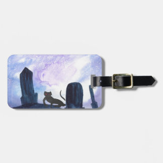 The Thing that Stalks The Graveyard Luggage Tag