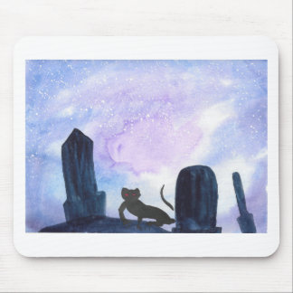 The Thing that Stalks The Graveyard Mouse Pad
