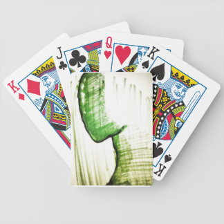 The Thinkers Solitude Bicycle Playing Cards