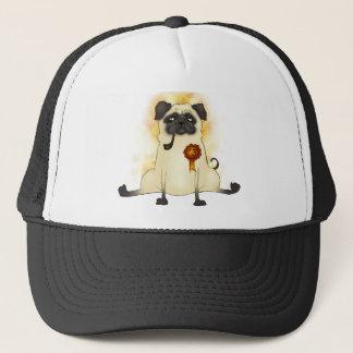 The Third Best Pug Trucker Hat