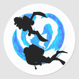 THE THIRD DIVE CLASSIC ROUND STICKER