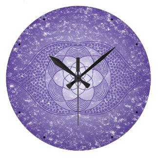 The Third Eye Chakra Large Clock