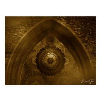 The Third gate (sepia) Poster