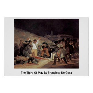The Third Of May By Francisco De Goya Posters
