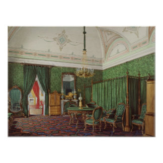 The Third Reserved Apartment. A Bedroom Print