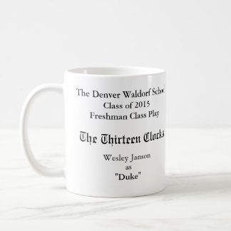 The Thirteen Clocks Commemorative Mug