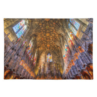 The Thistle Chapel St Giles Cathedral Edinburgh Placemat