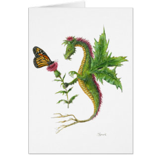 The Thistle Dragon 2012 Card