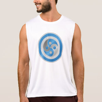The Thought Gym - Dry Fit Workout Exercise Vest Singlet