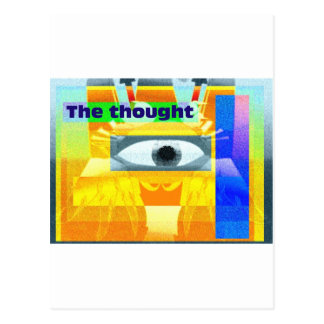 The thought! postcard
