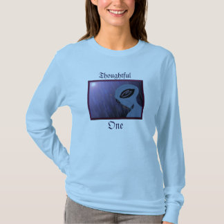 The Thoughtful One Shirt (With Words)