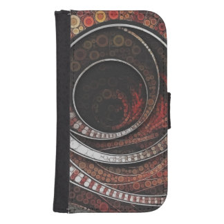 The Thousand and One Rings of the Circus Samsung S4 Wallet Case