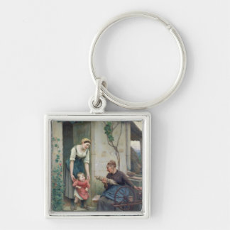 The Three Ages Keychain