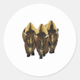 The Three Amigos Classic Round Sticker