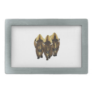 The Three Amigos Rectangular Belt Buckles