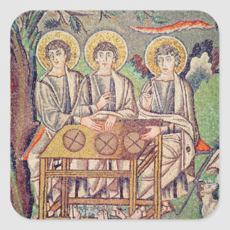 The Three Angels Square Stickers