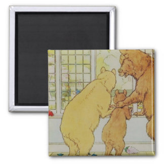The Three Bears art Magnet
