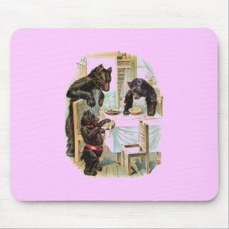 The Three Bears Fairytale Mouse Pad