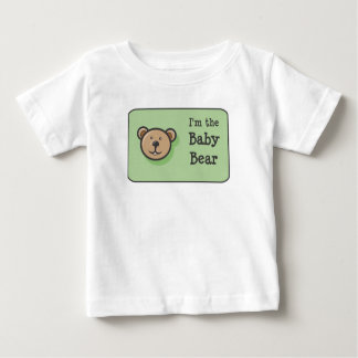 The Three Bears Family Baby T-Shirt