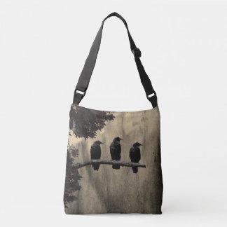 The Three Blackbirds Crossbody Bag