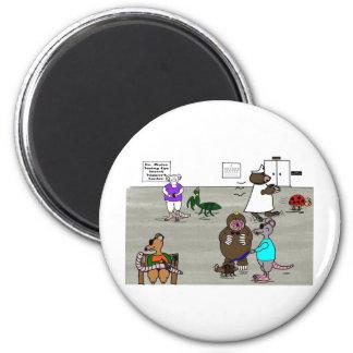 The Three Blind Mice 6 Cm Round Magnet