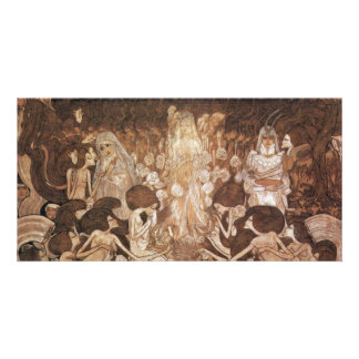 The Three Brides By Toorop Jan (Best Quality) Customised Photo Card