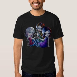 The Three Fates SHIRT gothic fairy goddess myth
