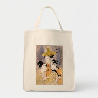The Three Geisha Tote Bag