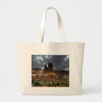 The Three Gossips Arches National Park Large Tote Bag