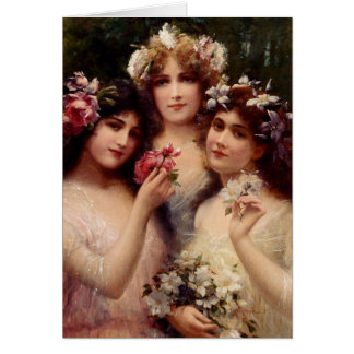 The Three Graces, Card