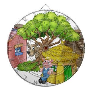The Three Little Pigs Fairytale Dartboard