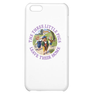 The Three Little Pigs Leave Their Home Cover For iPhone 5C