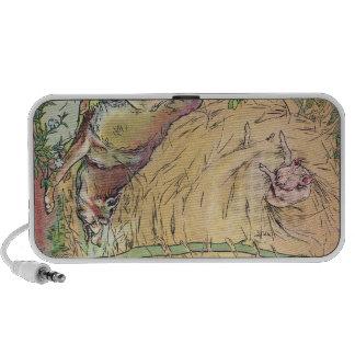 The Three Little Pigs Straw House Fairy Tale 1904 Laptop Speaker