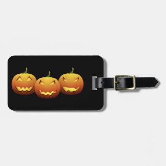 The Three Pumpkins Luggage Tag