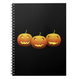 The Three Pumpkins Notebooks