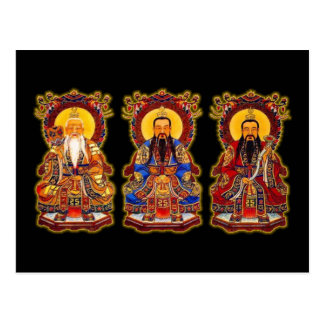 The Three Pure Ones Postcard