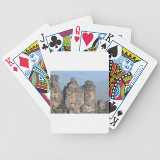 The Three Sisters Bicycle Playing Cards