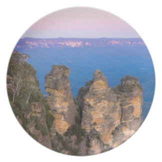 The Three Sisters, Blue Mountains, New South Wales Plate