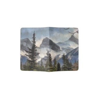 The Three Sisters - Canadian Rocky Mountains Passport Holder