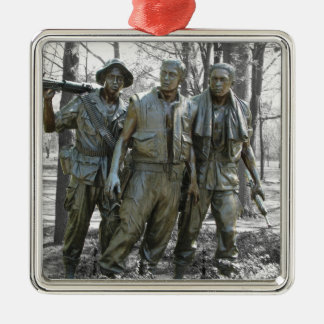 The Three Soldiers Metal Ornament