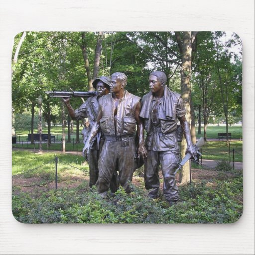 The Three Soldiers mousepad