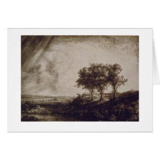 The Three Trees Card