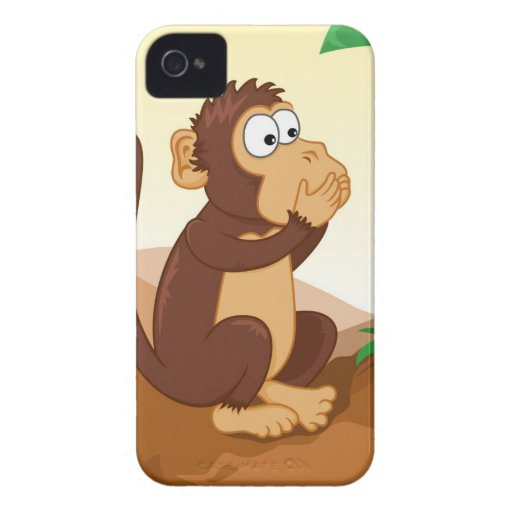 The three wise monkeys iPhone 4 case