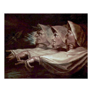 The Three Witches by Henry Fuseli Poster