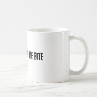 the thrill of the bite coffee mug