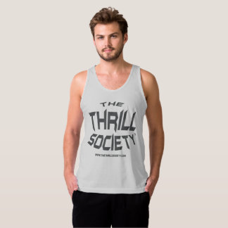 The Thrill Society Logo Squeezed Design Singlet